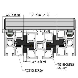 MiniTec T-Slotted Aluminum Extrusions  Modular Aluminum Profiles For